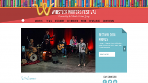 Whistler Readers and Writers Festival